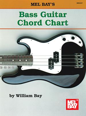 BASS GUITAR CHORD CHART BAY GTRCH (93297 ) (Bass Guitar )