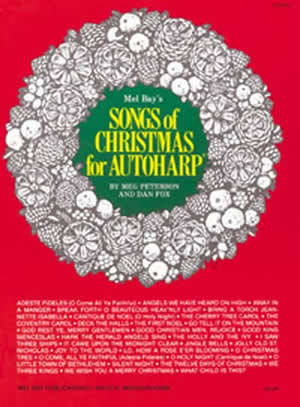 SONGS OF CHRISTMAS FOR AUTOHARP PETERSON FOX (93696 )
