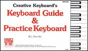 KEYBOARD GUIDE & PRACTICE KEYBOARD BYE (93992 ) (Keyboard Charts )