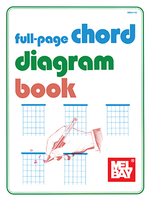 FULL PAGE CHORD DIAGRAM BOOK