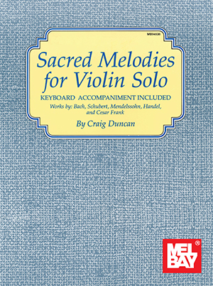 SACRED MELODIES FOR VIOLIN SOLO WITH PIANO ACCOMPANIMENT DUN (94536 )