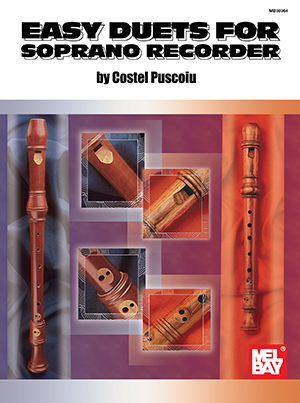 EASY DUETS FOR SOPRANO RECORDER PUSCOIU (98964 )
