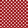TA DOT Red with White Large Dots