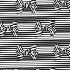 Bows And Stripes dc8414-ebony