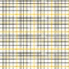Queen Bee Beehive Plaid Gray