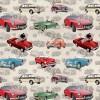 DDC9150-CREM-D Cream Mg Allover by MG British Motor Cars Michael Miller Fabrics