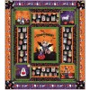 Michael Miller Howl-o-ween Quilt Kit 54 x 60 (Pattern by Heidi Pridemore Fabric by Casey Krimmel)