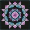 Mardi Gras Quilt Kit - Strata  Michael Miller