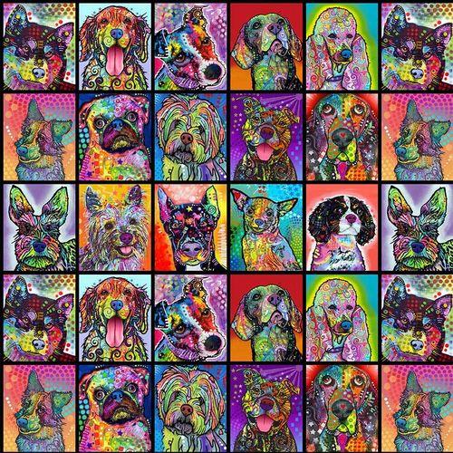 Sykel Dog Days - Block Dogs - Multi