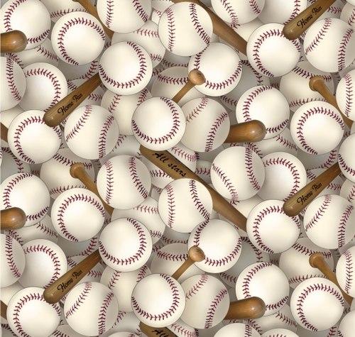 ES -  Sports Collection - EST-112WHITE  Baseballs