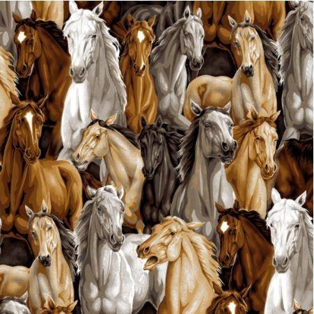 Allover Horses