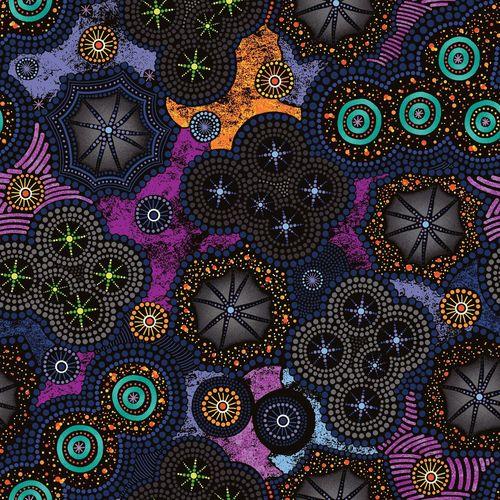 Walkabout II Milky Way Purple