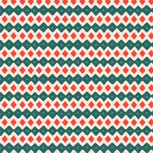 Scandinavian christmas - green/red