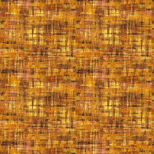 Brushstrokes-Tonal Gold