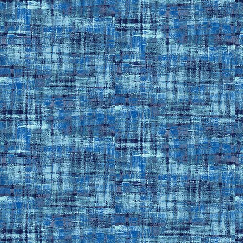 Brushstrokes Tonal Blue FAB-120/19704