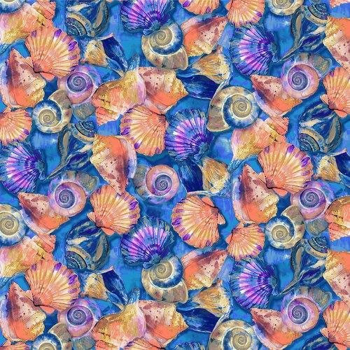 120 208942 Fabulous Flamingos Shell for Paintbrush Studio. 100% cotton 43 wide