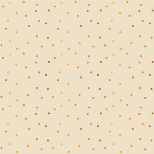 Flower Market Dot Light Orange