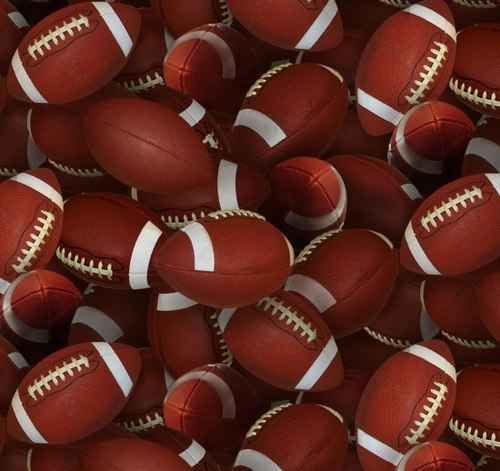 Sports Collection - Footballs Brown