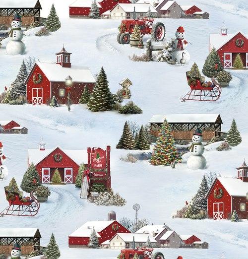 Tis The Season Scenic Snow