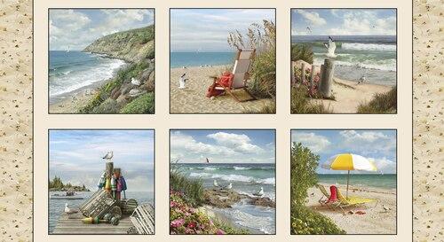 Coastal Dreams Panel 13004Sand