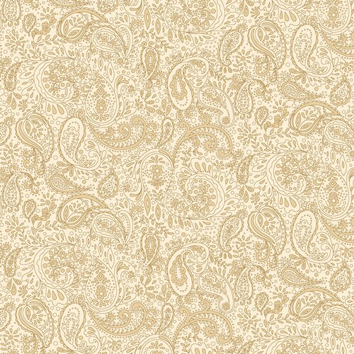 Butter Churn Basics Small Paisley Cream