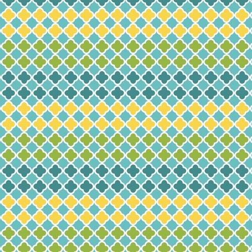 Ain't Life A Hoot Mosaic Blue/Green