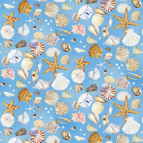 Coastal Paradise Blue Shells 1505-11
