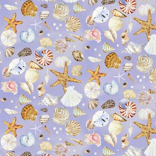 Coastal Paradise 1505-55 Lavender Shells