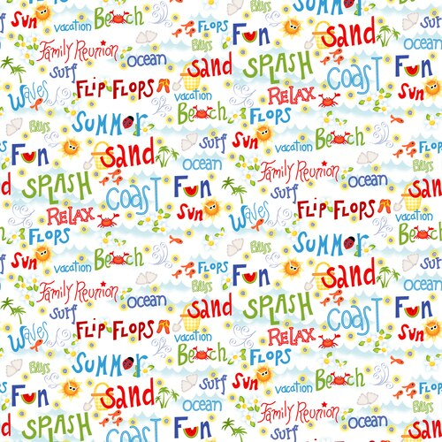 Celebrate Summer Words