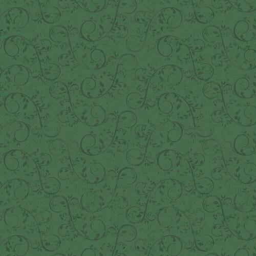 HOLIDAY HOMESTEAD GREEN TONAL SWIRLS/VINES 1616-66