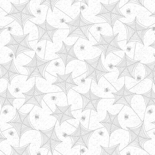 Hocus Pocus Tossed Spiderwebs