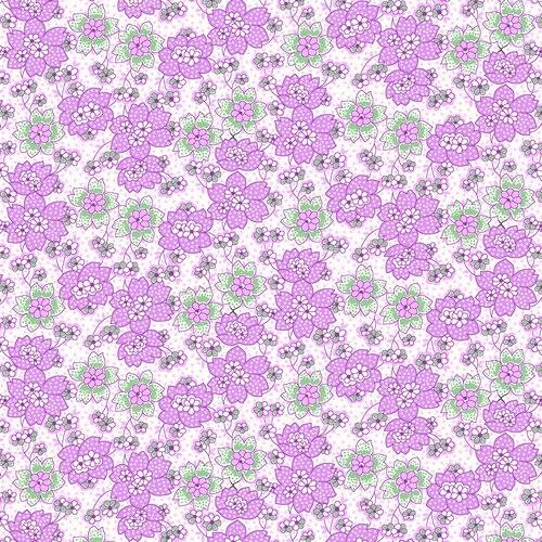 Nana Mae III Dot Flowers 1671/56