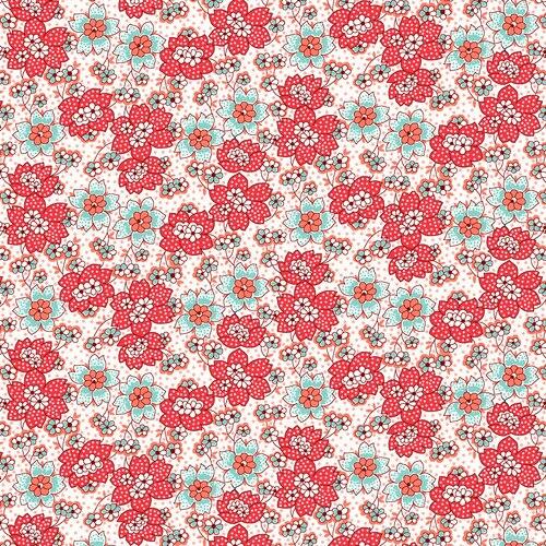 Nana Mae III Dot Flowers 1671/81