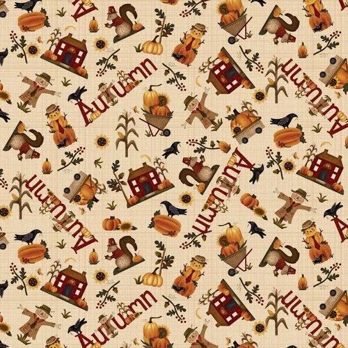 Buttermilk Autumn Novelty Toss 2273/33