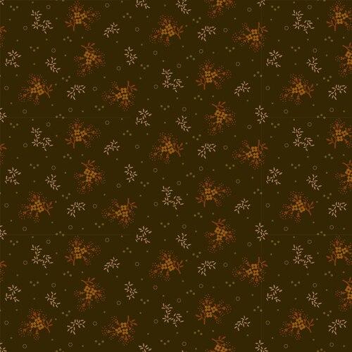 Midwest Textiles  - Buttermilk Autumn - Minin Floral - Green - GLA-2274/66