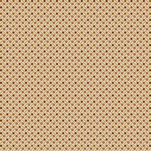 Midwest Textiles  - Buttermilk Autumn - Dot Weave - Cream - GLA-2274/66