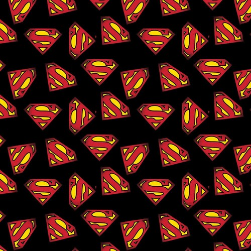SUPERMAN LOGO BLACK