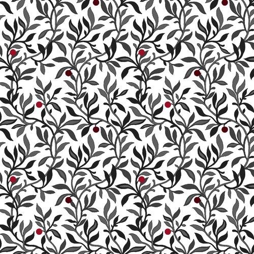 Berry Vine - White/Multi