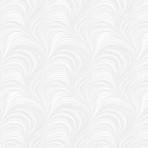 108 Wide Benartex Wave Texture 2966W 09 White