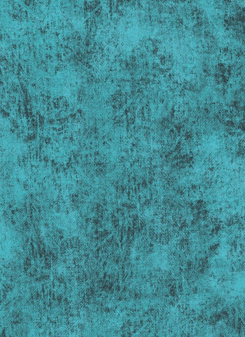 Jenny Beyer Denim Turquoise