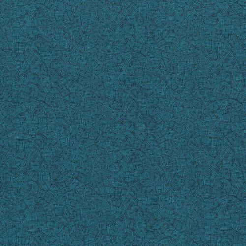 RJR Fabrics Hopscotch Cross Hatch My Way 3225-002 Teal