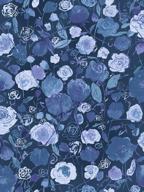 Petal Park - Blue/Purple Roses
