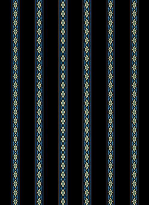 Aruba Mini Stripe Teal Gold 3580/001