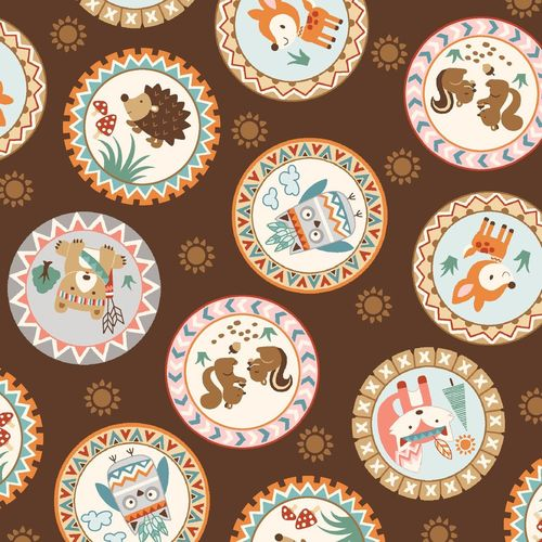 Camp-A-Long Critters 4006 Brown
