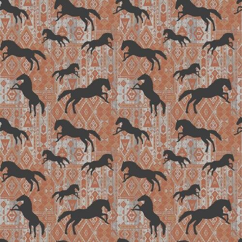 Born To Run<br>Horse Silhouettes Spice - 4165-87
