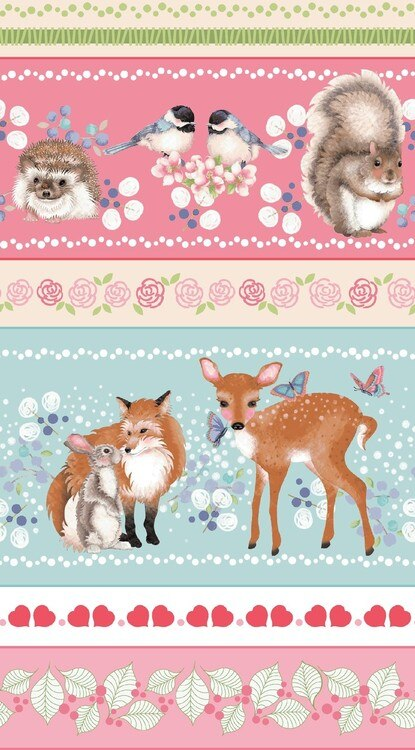 FOREST FRIENDS STRIPES OF ANIMALS 4352-22