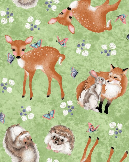 Forest Friends 4353-66 Tossed Forest Animals