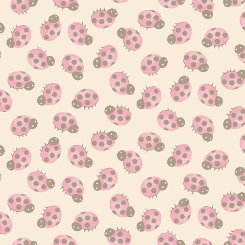 Forest Friends 4356 20 Beige with pink