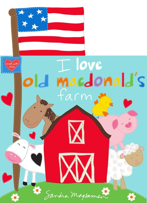 Huggable & Loveable Book 6 4611P/1 ~ Old Macdonalds Farm