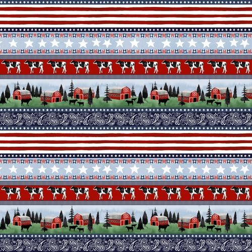 Heritage USA Border Stripe